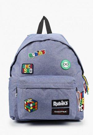 Рюкзак Eastpak x Rubiks. Цвет: голубой