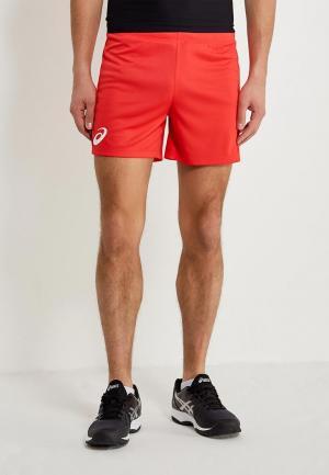 Шорты спортивные ASICS MAN RUSSIA SHORT. Цвет: красный