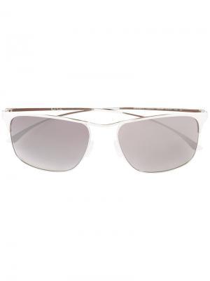 Солнцезащитные очки Lanyon Paul Smith. Цвет: металлический
