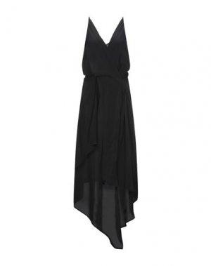 Длинное платье ALYSI. Цвет: черный