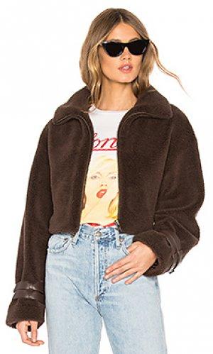 Куртка micah MAJORELLE. Цвет: коричневый