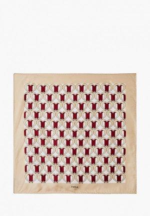Платок Furla 1927. Цвет: бежевый