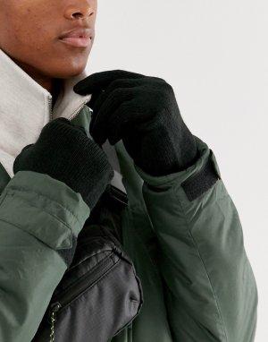 Черные перчатки -Черный Only & Sons