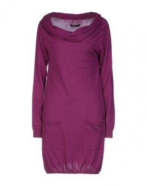 Короткое платье G.SEL. Цвет: розовато-лиловый