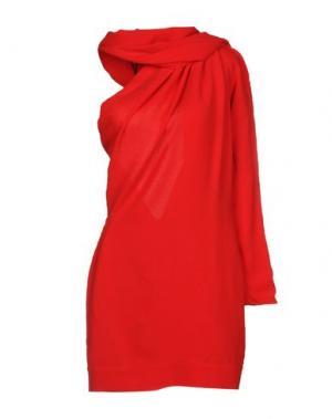 Платье до колена GARETH PUGH. Цвет: красный