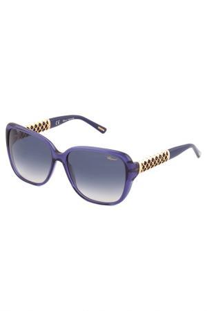 Солнцезащитные очки Chopard. Цвет: мультицвет
