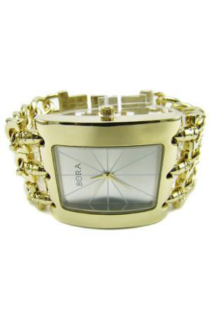 Часы с футляром BORA. Цвет: золотистый