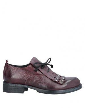 Обувь на шнурках JUICE. Цвет: баклажанный