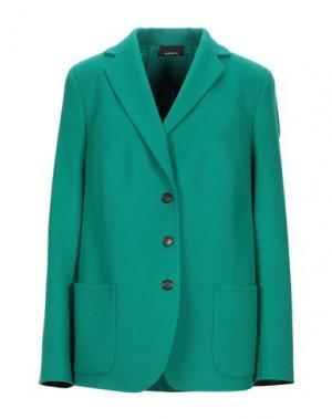 Пиджак AKRIS. Цвет: изумрудно-зеленый