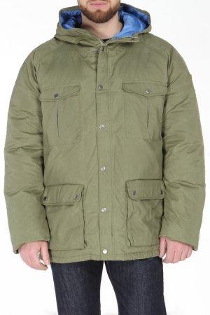Куртка FJALLRAVEN. Цвет: зеленый