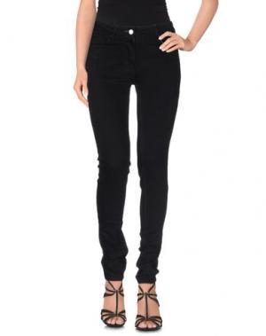 Джинсовые брюки RELIGION. Цвет: черный