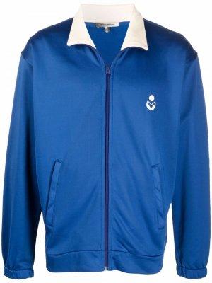 Logo-print track jacket Isabel Marant. Цвет: синий
