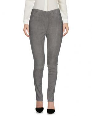 Повседневные брюки ENES. Цвет: свинцово-серый