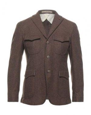 Пиджак JERRY KEY. Цвет: коричневый