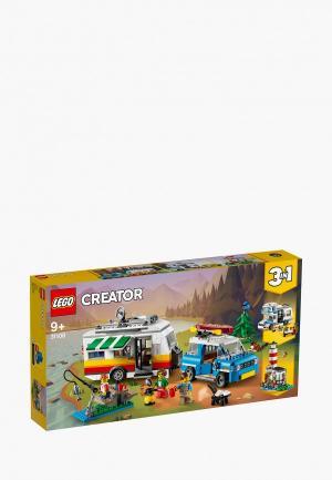 Конструктор LEGO Caravan Family Holiday. Цвет: разноцветный