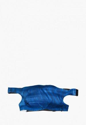 Маска для лица с фильтрующим элементом Buff Keren Blue. Цвет: синий