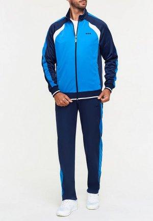 Костюм спортивный Addic. Цвет: голубой