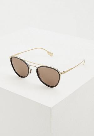 Очки солнцезащитные Burberry BE3104 1145/3. Цвет: золотой