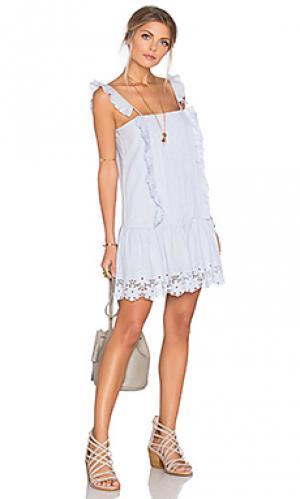 Платье annabel Tularosa. Цвет: синий