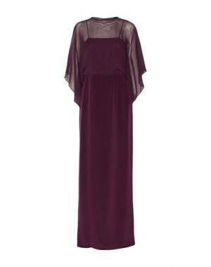 Длинное платье MIKAEL AGHAL. Цвет: фиолетовый