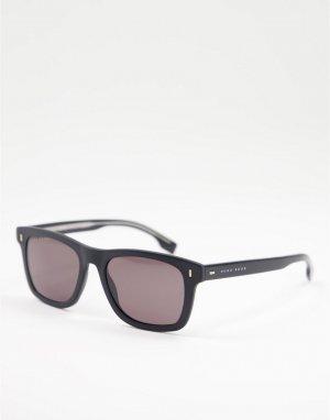Солнцезащитные очки с квадратными стеклами Hugo Boss 0925/S-Черный цвет