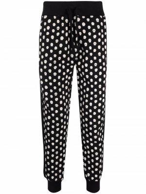Спортивные брюки с принтом Hydrogen. Цвет: черный