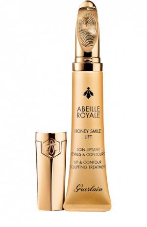 Моделирующий бальзам для губ Abeille Royale Honey Liplift Guerlain. Цвет: бесцветный