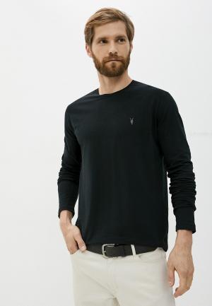 Лонгслив AllSaints. Цвет: черный