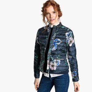 Куртка легкая с рисунком LA REDOUTE COLLECTIONS. Цвет: цветы/синий