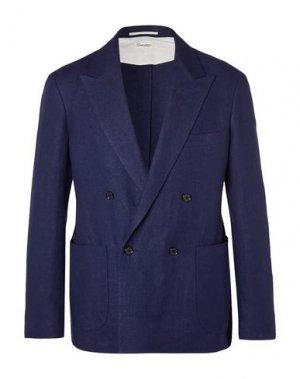 Пиджак CAMOSHITA by UNITED ARROWS. Цвет: синий
