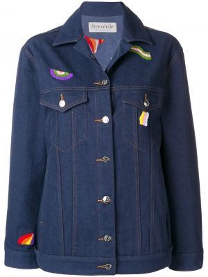 Джинсовая куртка с вышивкой Être Cécile