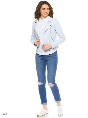 Косуха Vero moda. Цвет: светло-голубой