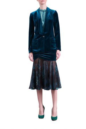 Пиджак Isabel Garcia. Цвет: dark green