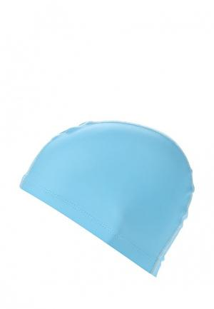 Шапочка для плавания TYR SILICONE COMFORT SWIM CAP. Цвет: голубой