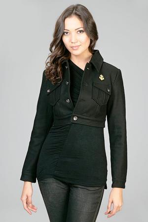 Куртка Eighth Sin. Цвет: черный