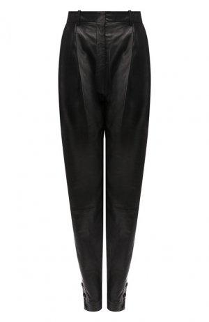 Кожаные брюки Altuzarra. Цвет: черный