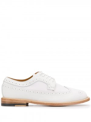 Lace up brogues Paul Smith. Цвет: белый