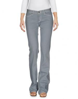 Джинсовые брюки HABITUAL. Цвет: светло-зеленый
