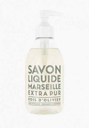 Жидкое мыло Compagnie de Provence Olive Wood, 300 мл. Цвет: прозрачный