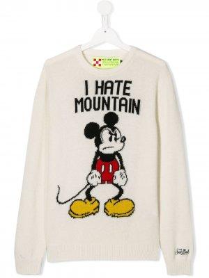 Джемпер Mickey Mouse MC2 Saint Barth Kids. Цвет: белый