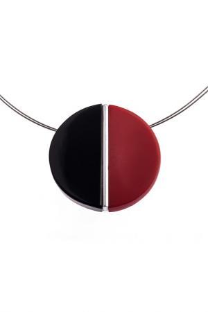 Колье Culture Mix. Цвет: красный, черный