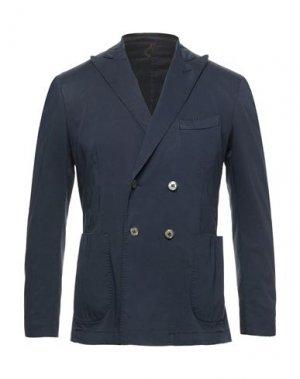 Пиджак SANTANIELLO. Цвет: темно-синий