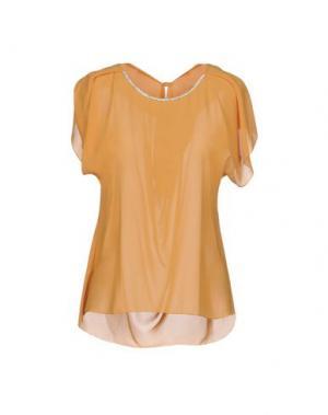Блузка H2O ITALIA. Цвет: абрикосовый