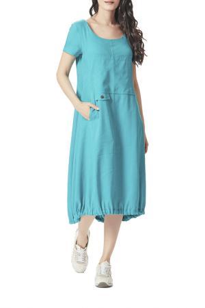 Платье D`imma. Цвет: бирюзовый