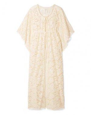 Легкое пальто ANNA SUI. Цвет: светло-желтый