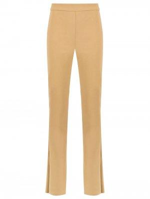 High waisted flared trousers Gloria Coelho. Цвет: коричневый