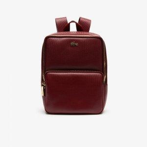 Рюкзак CHANTACO Lacoste. Цвет: красный