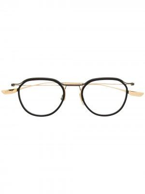 Очки для чтения Schema Two Dita Eyewear. Цвет: черный