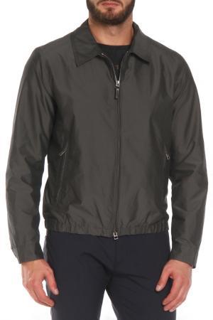 Куртка DAKS. Цвет: серый