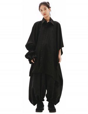 Рубашка с рукавом-пончо Yohji Yamamoto